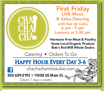 First Friday LIVE Music & Salsa Dancing in Milwaukie, OR