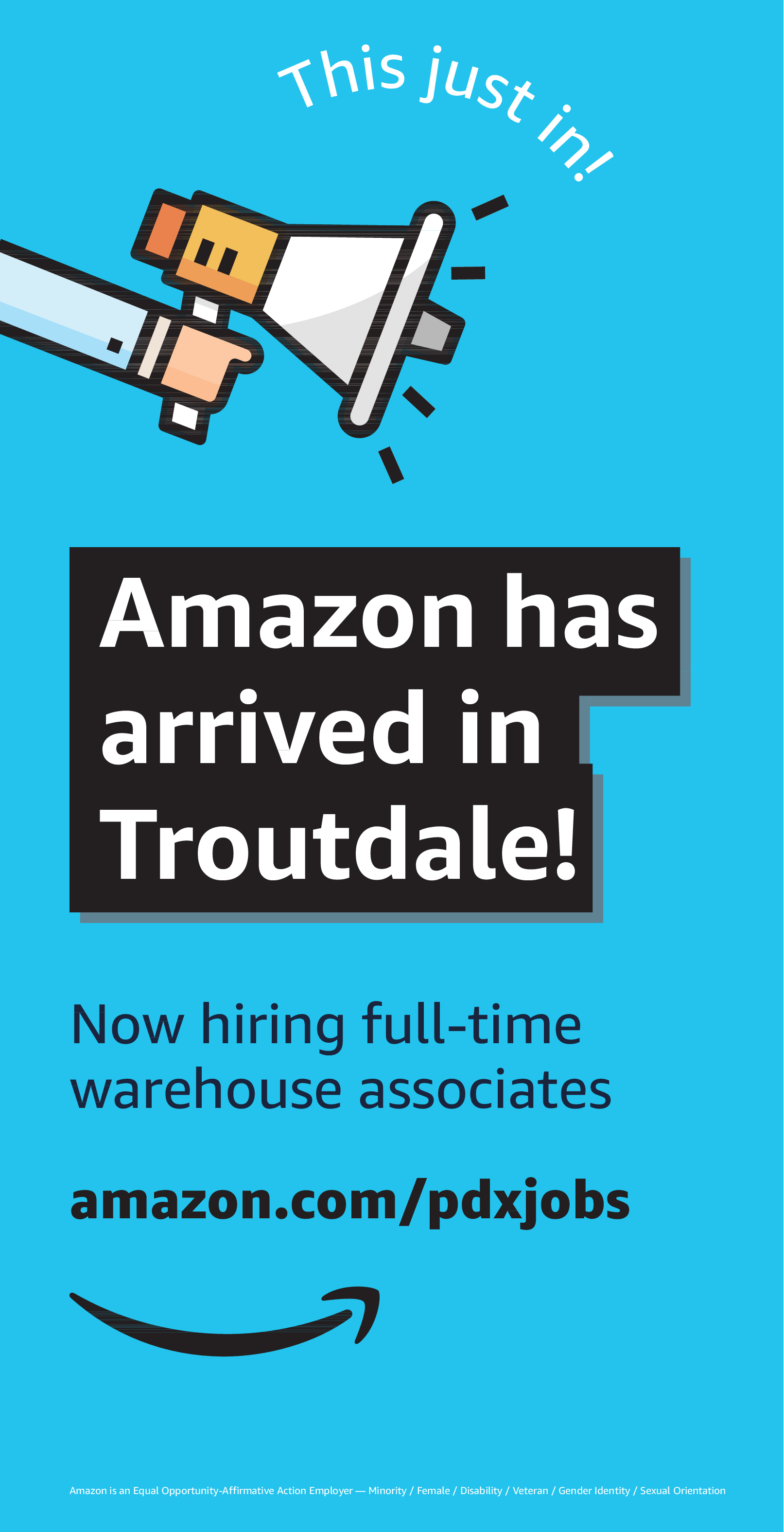 Now Hiring Full Time Warehouse Associates In Clackamas Or
