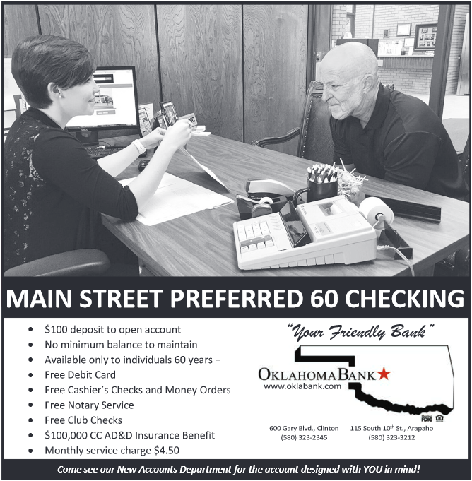 Free Notary Service in Clinton, OK, Banks - Oklahoma Bank and Trust Co